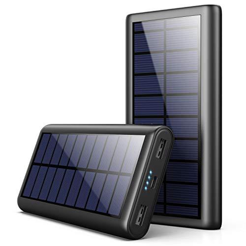AOPAWA Solar Powerbank 26800mah Neueste Solar Ladegerät Externer...