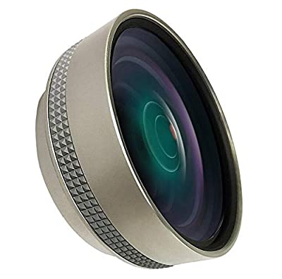 Wide Angle Lens for Sony FDR-AX33/AX43/AX53, HDR-CX675 (0.4X) by Digital Nc