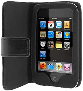 Importer520 Folio Wallet Leather Case for Apple iPod Touch 3rd Generation (Black)