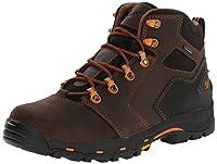 """Danner Men's Vicious 4.5"""" Plain Toe Work Boot, Brown/Orange, 9.5 D US"""