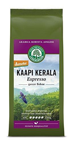 Lebensbaum Bio Espresso Kaapi Kerala, ganze Bohne (5 x 250 gr)