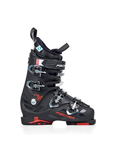 fischer Chaussures de Ski pour Homme - Noir - Nero Rosso, Medium EU