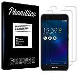 PHONILLICO [Pack de 2] Verre Trempe ASUS ZENFONE 3 Max ZC520TL 5.2' - Film Protection Ecran Verre...