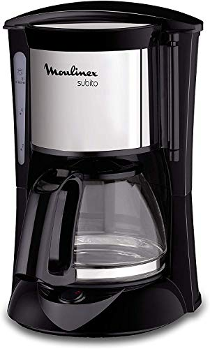 MOULINEX Cafetires filtre SUBITO inox 6 Tasses Machine...