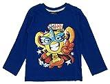Superzings - maglietta superzings 3 4 5 6 7 anni - 4-anni - blu
