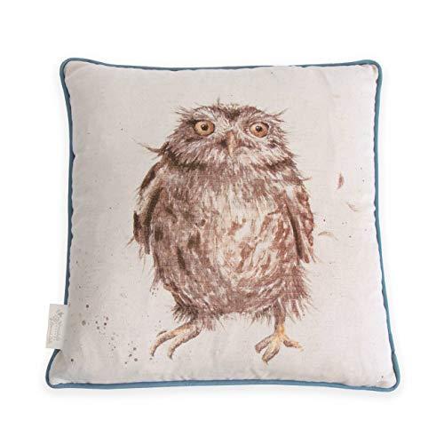 Wrendale Designs - Cushion - What a Hoot - Owl