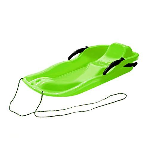 Outdoor Sports Kunststoff Ski Boards Schlitten Luge Schnee Gras Sand Board Ski Pad Snowboard mit Seil für Doppelpersonen Johnsen