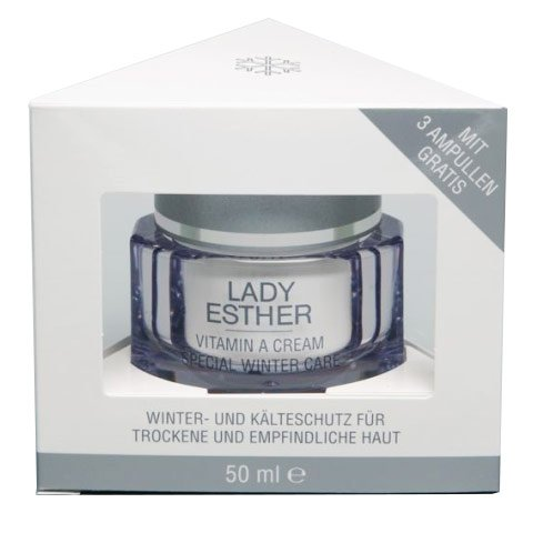 Lady Esther Cosmetic Special Care Vitamin A Winter Cream + 3 Ampullen