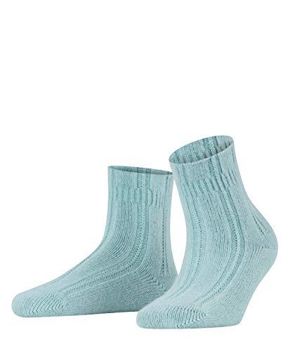 FALKE Damen Socken Bedsock - Angoramischung, 1 Paar, Grün (Peppermint 7792), Größe: 35-38