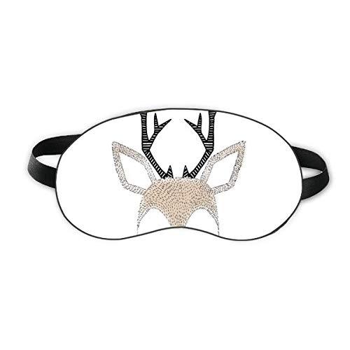 Simplicity Style Little Deer Tier Schlafaugenmaske Nacht Augenbinde Shade Cover