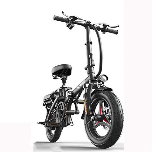 Bicicletas Eléctricas, Bicicleta eléctrica plegable: portátil y fácil de almacenar en la...