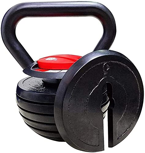 ZJDM [10-40LBS Kettlebell Weights Sets,Strength Training Exercise,Solid Cast Iron 15 lb 20 lb 30 lb 35 lbs Kettlebells,Adjustable Kettle Bells Weight Set for Men Women Fitness