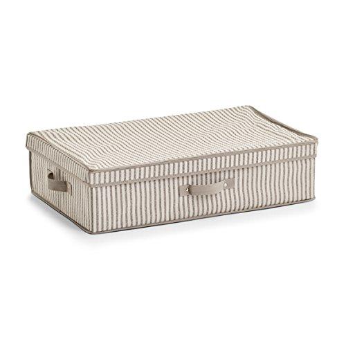 Zeller Aufbewahrungsbox, Vlies, Beige, 61,5 x 38 x 16,5 cm