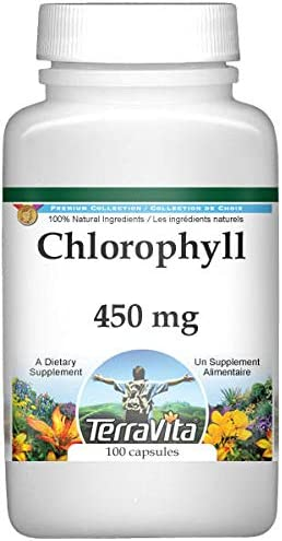 Chlorophyll - 450 mg 100 3 San Francisco Mall ZIN: Pack Capsules Mail order 512479