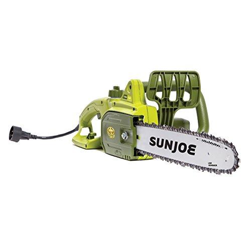Sun Joe SWJ699E 14-Inch 9.0 Amp Electric Chain Saw, Green