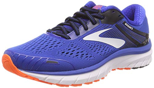 Brooks Herren Adrenaline Gts 18 Laufschuhe, Blau (Blue/Black/Orange 420), 41 EU
