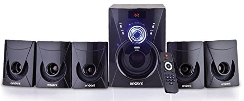 Envent Deejay 702 BT ET-SP51200-BT Bluetooth Home Audio (Black)