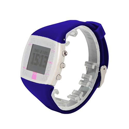ibasenice Banda para Polar ft4 ft7-reemplazo watchstrap Correa de Silicona Correa de Reloj reemplazo de liberación rápida Pulsera Pulsera Correa Compatible para Polar ft4 ft7 (Azul)