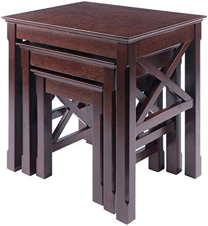 Best Winsome Xola Nesting Tables, Cappuccino