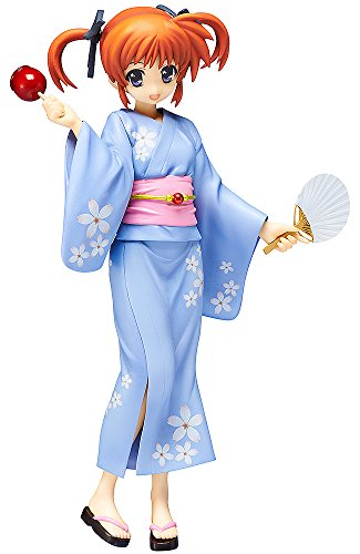 Good Smile Magical Girl Lyrical Nanoha The Movie : 2 ND d'une Femme : Nanoha Takamachi Robe Version PVC Figure (1 : 8 Scale)