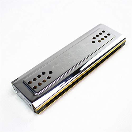 ZHAO Beide Seiten Mundharmonika Tremolo C und G Key 24 Löcher Doppel Harmoniker Harfe Mundorgan Holzwind Instruments