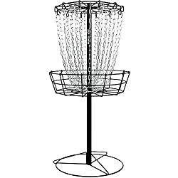 MVP Black Hole Practice 24-Chain Portable Disc Golf Basket