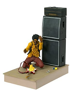 "None McFarlane: 7"" Jimi Hendrix at Monterey Pop Festival Action Figure"