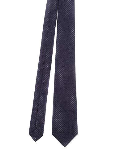 Kiton Luxury Fashion Herren CRAVATTA800 Blau Seide Krawatte | Frühling Sommer 20
