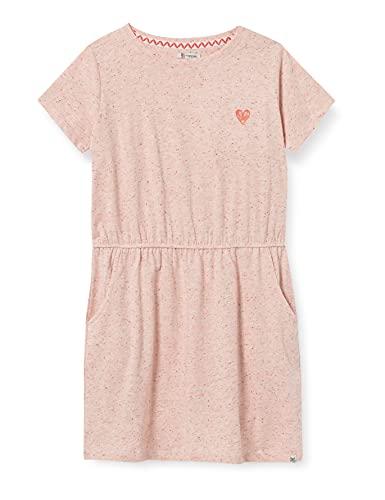 Noppies Mädchen G Dress SS Linkwood Kinderkleid, Creole Pink-P686, 110
