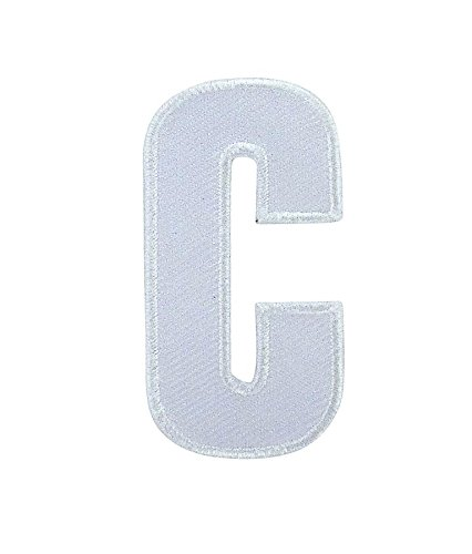 Opnaaier, geborduurd, om op te strijken, letters, wit, voor bikers, tricot, borduurwerk – C