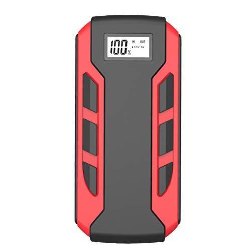FAVOMOTO Cargador de Coche de 12V Cargador de Emergencia para El Coche Cargador de Alimentación para El Vehículo Fuente de Alimentación para El Coche Paquete de Batería con Pantalla
