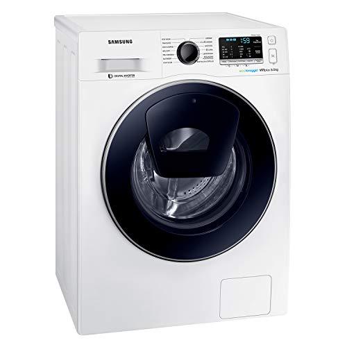 Samsung WW80K5210VW Lavatrice Slim 8 kg AddWash, Profondità 46,5 cm, 1200 rpm, Bianco