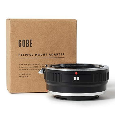 Gobe Lens Mount Adapter: Kompatibel mit Canon EOS (EF/EF-S) -Objektiv und Sony E-Kameragehäuse + Stativbefestigung