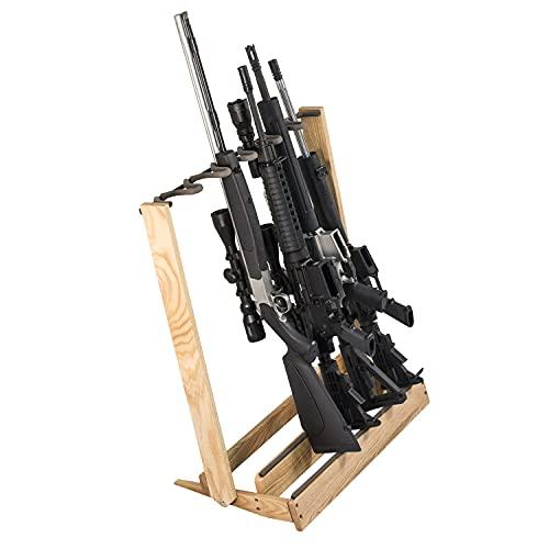 Hardwood Folding Gun Rack or Bow Holder