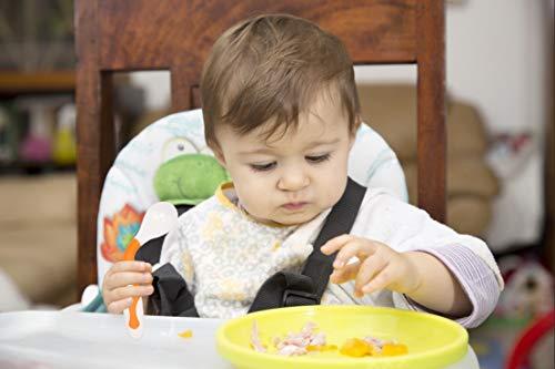 Qshare赤ちゃんスプーンフォークセット 把持して曲げる機能 幼