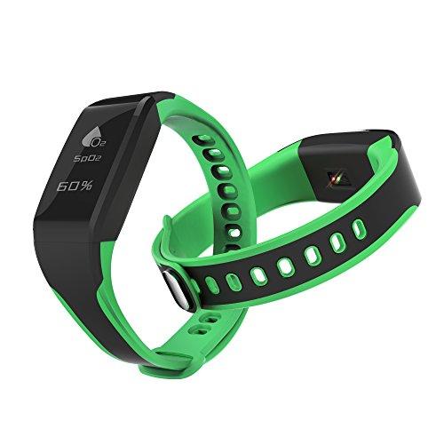 Buy Discount Fitness Tracker, GmxTech Blood Oxygen Smart Bracelet Activity Tracker Heart Rate Monito...