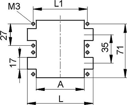 Lapp Zubehör - Plug inserto h-be 24 ss epic inserto de contactos para conectores industriales