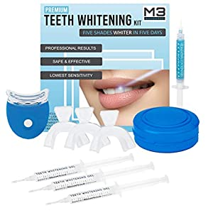 M3 Natural Professional Teeth Whitening Kit With Led Light