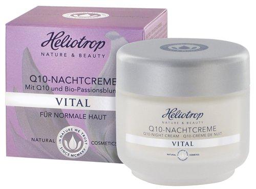 Heliotrop: Nachtcreme Q10 Vital (50 ml)