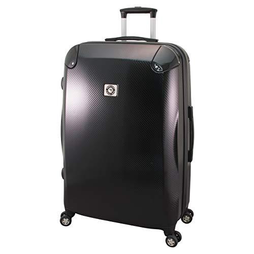 Mercury Luggage Luggage Carbon Fiber Upright 28 Inch, Black