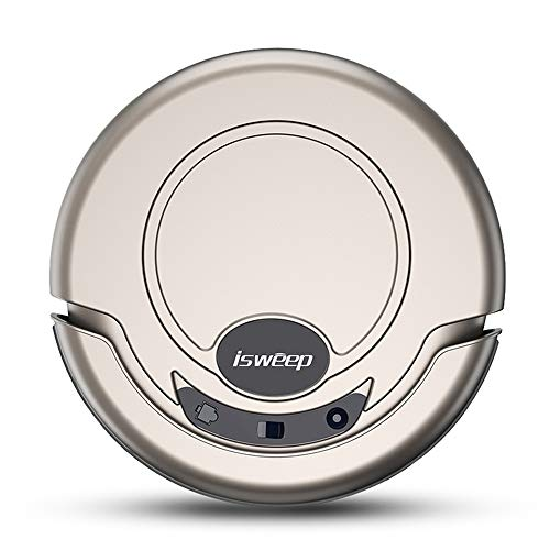 ISWEEP JWS-S320 Robot Vacuum Cleaner Slim Wet and Dry Mopping/Anti-Collision System/Schedule Cleaning Plan Automatic Cleaning/Spot Cleaning/Edge Cleaning Gold