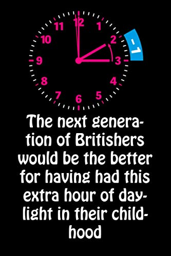 The next generation of Britishers would be the better for having had this extra hour of daylight in their childhood: Funny Daylight Saving Time Blank ... To Write Stories Memory With Her Saving Time