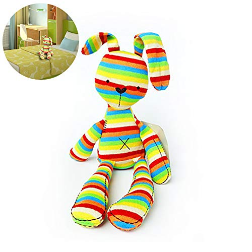 1pc adorable conejito muñecos de peluche de conejito juguetes de peluche juguetes de peluche suave dormir del bebé Comfort muñeca para los niños