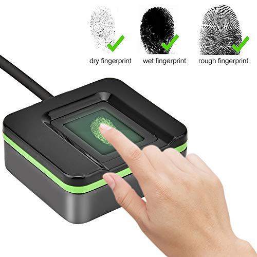 USB Fingerprint Reader Biometric Fingerprint Reader Scanner Access Control Attendance System for WIN7/WIN8/WIN10/for Windows XP/Vista/Linux/Android
