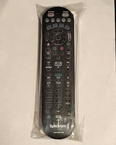 Spectrum TV Remote Control 3 Types To Choose FromBackwards compatible with Time Warner, Brighthouse and Charter cable boxes (Pack of One, UR5U-8780L)