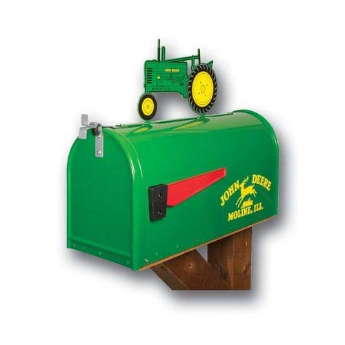 All States Ag Parts Parts A.S.A.P. Tractor Mailbox with Topper - John Deere Model B