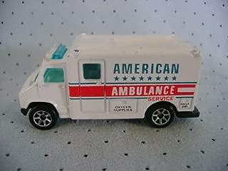 HOT WHEELS 1988 AMERICAN AMBULANCE SERVICE