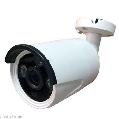 Jortan, Telecamera Camera Videosorveglianza Infrarossi 3.6Mm Ahd 3 Led Array 1Mpx 3Ahd