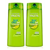 Garnier Hair Care Fructis Fortifying Paraben-Free 2-in-1 Shampoo and Conditioner for Stronger Looking Hair with...