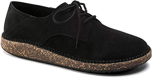 Birkenstock Women's Gary Black Suede Shoe